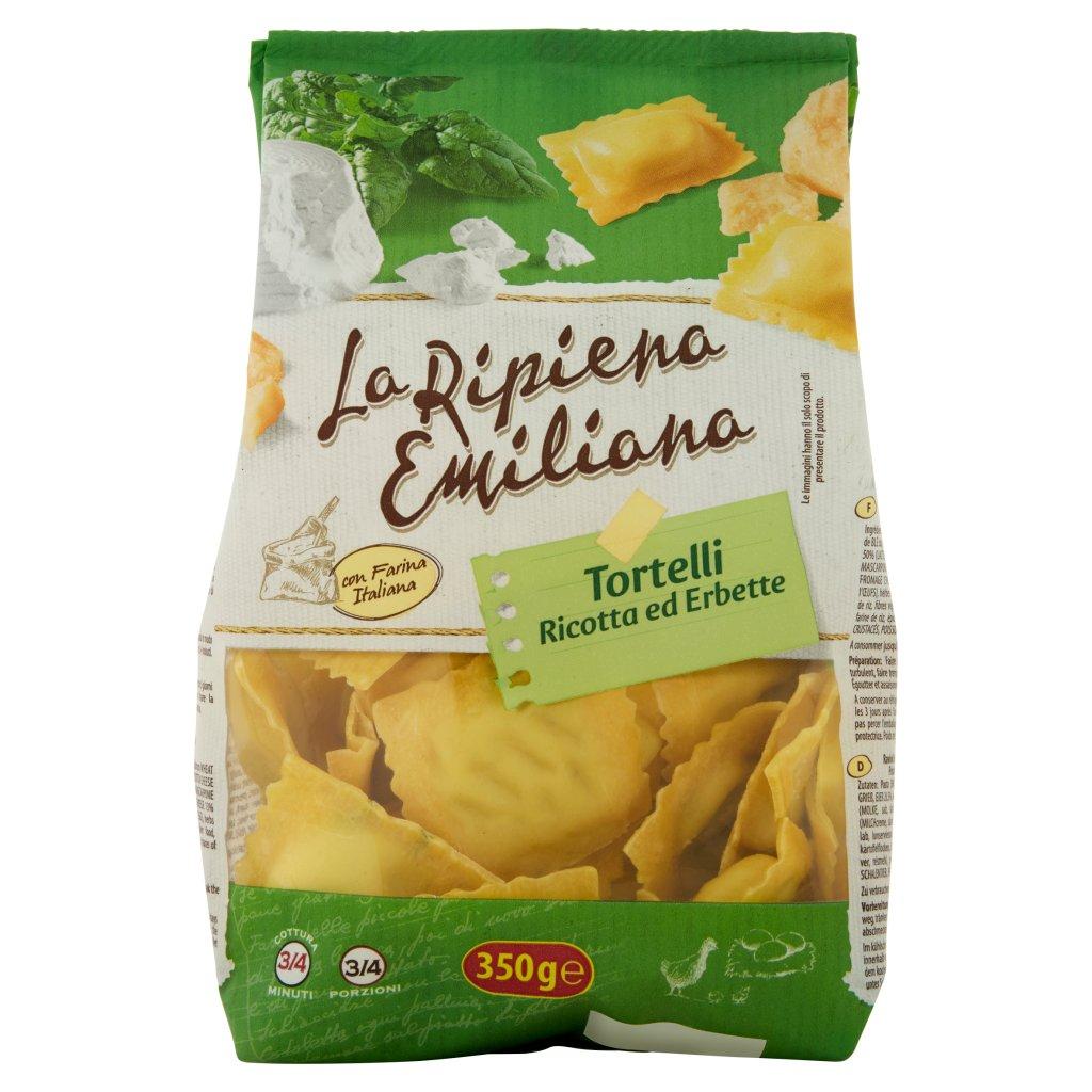 La Ripiena Emiliana Tortelli Ricotta Ed Erbette