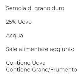 Antica Pasta Sabina Maltagliate all'Uovo 500 g