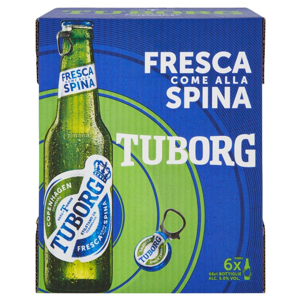 Tuborg Fresca Come alla Spina Confezione 6X66Cl