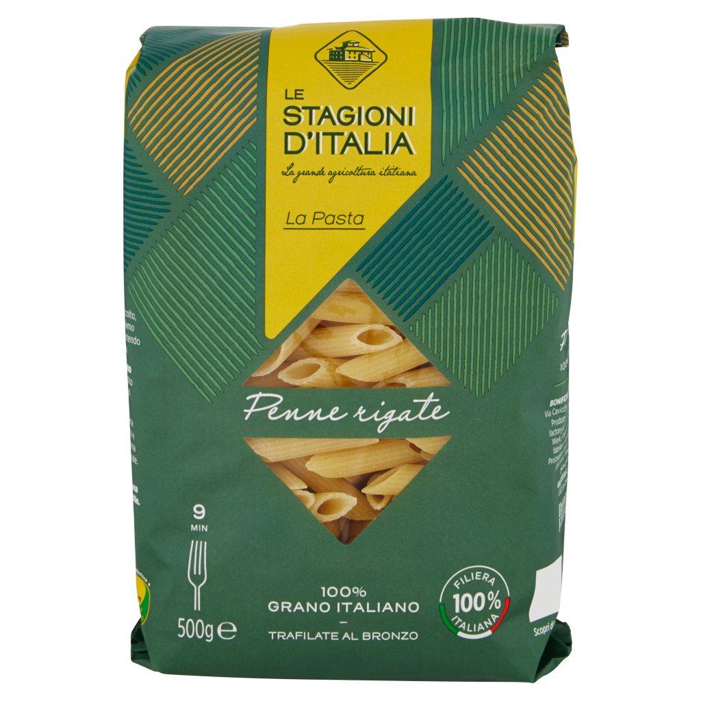 Le Stagioni d'Italia La Pasta Penne Rigate N°132