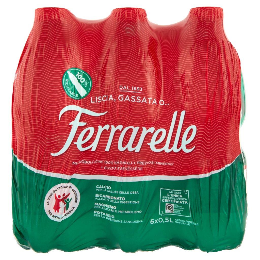 Ferrarelle 6 x 0,5 l Imballaggio 6 Bottiglie Da 0,5 L 1