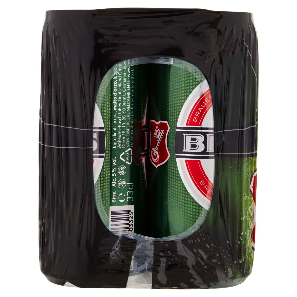 Beck's Beck's Birra Pilsner Tedesca Lattina 4x33cl