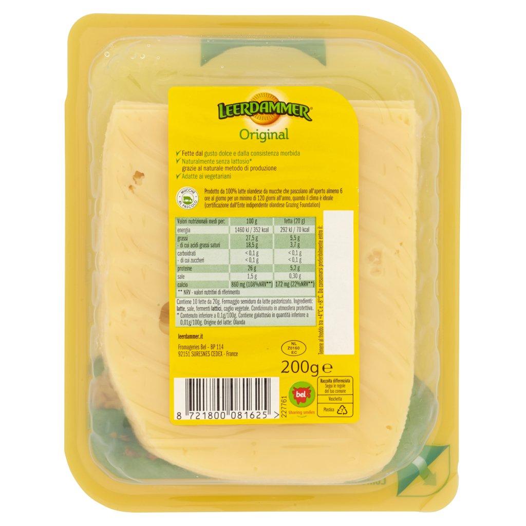Leerdammer Original Fette 10 x 20 g