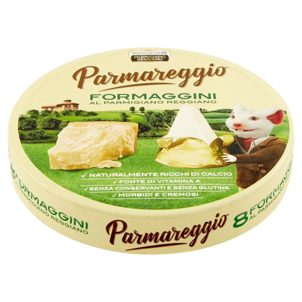 Parmareggio 8 Formaggini al Parmigiano Reggiano Confezione 140 G