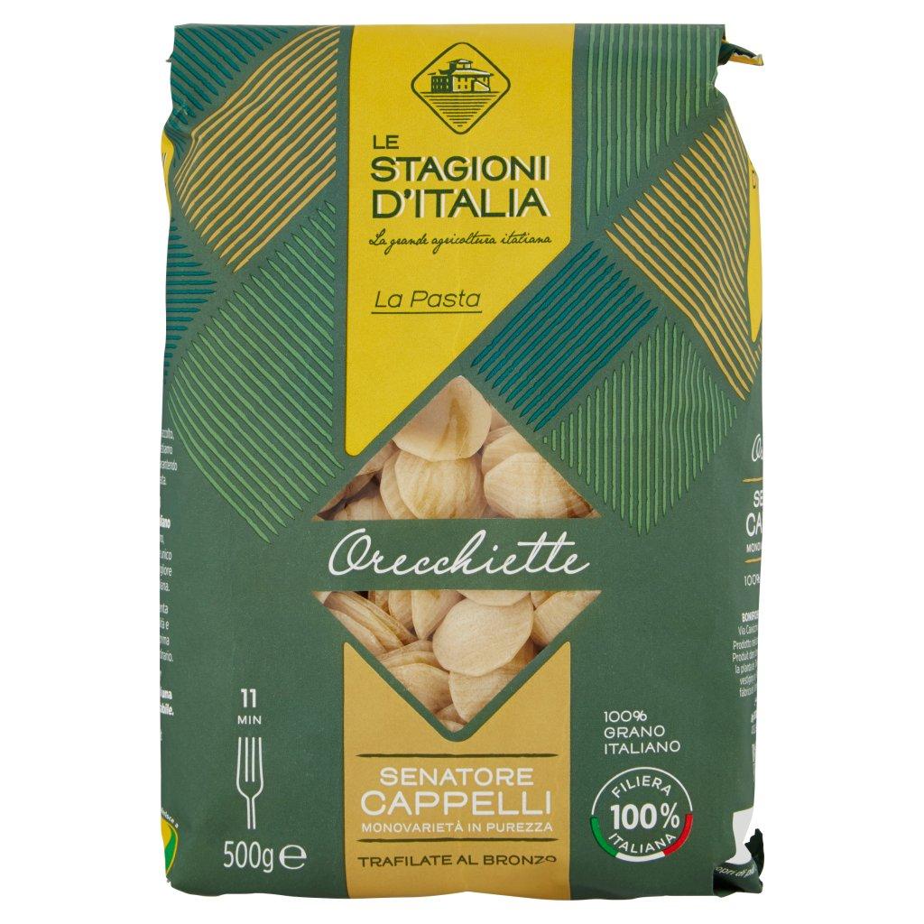 Le Stagioni d'Italia La Pasta Orecchiette N°59 Senatore Cappelli Confezione 500 G 1