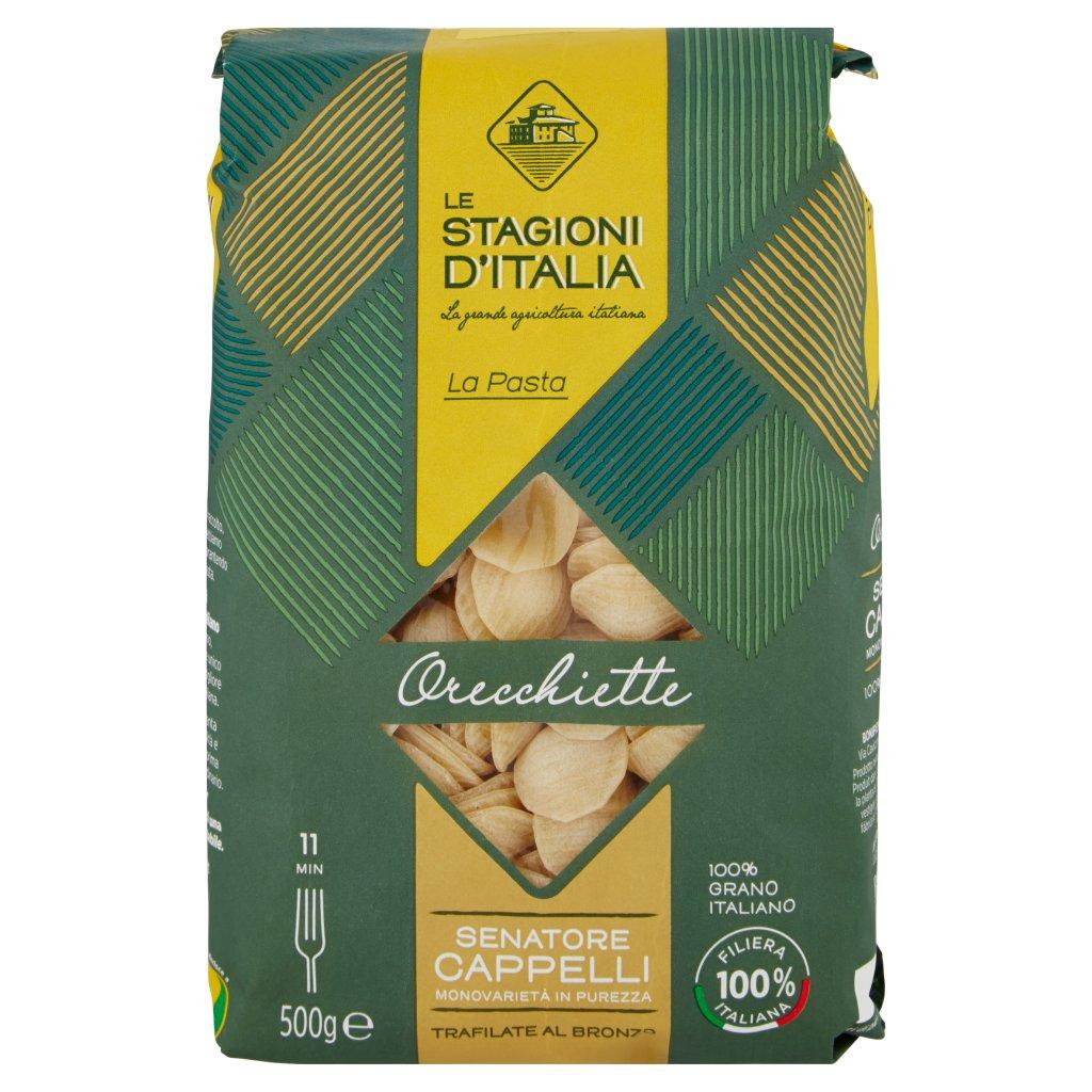 Le Stagioni d'Italia La Pasta Orecchiette N°59 Senatore Cappelli Confezione 500 G