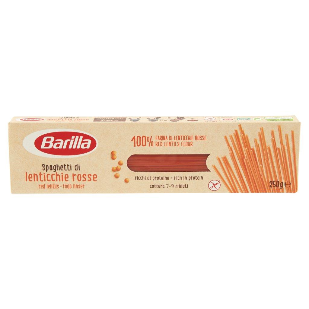 Barilla Spaghetti di Lenticchie Rosse