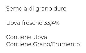Spinosi Classiche Tagliatelle di Campofilone Pasta all'Uovo