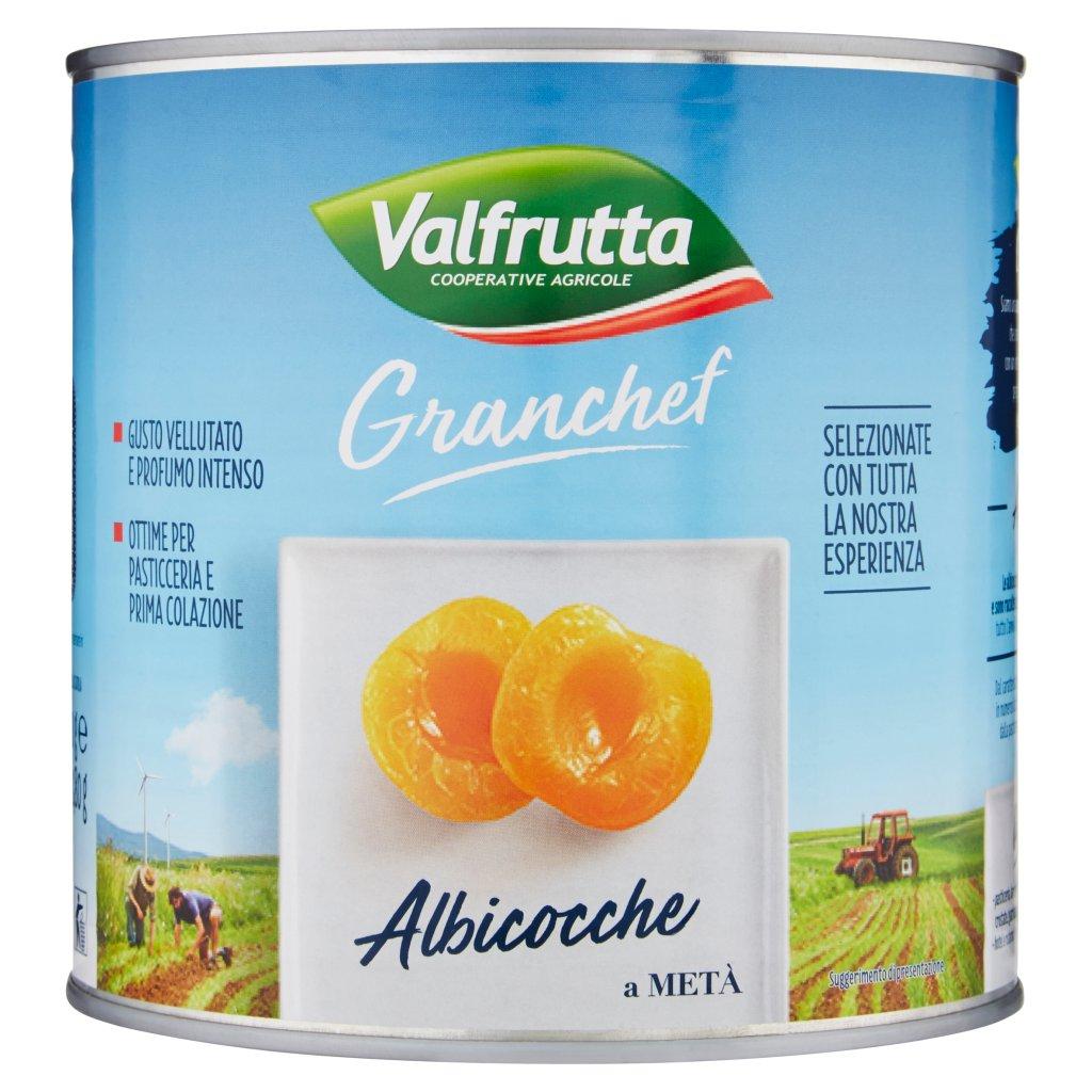 Valfrutta Granchef Albicocche a Metà