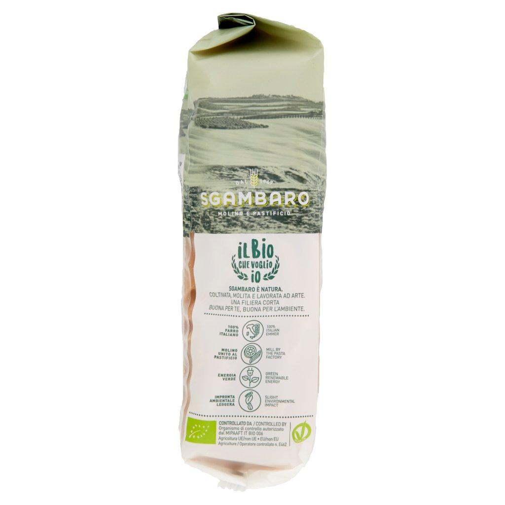 Sgambaro Bio Farro Lenticchie Quinoa Penne Rigate N° 91