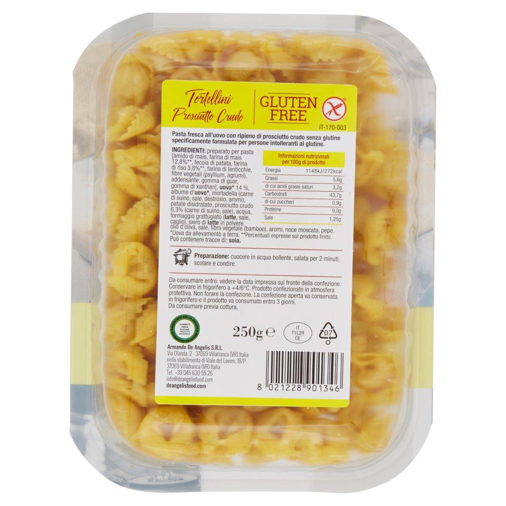 De Angelis Gluten Free Tortellini Prosciutto Crudo
