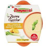 Dimmidisì Le Zuppe Fresche Vellutata di Patate e Porri
