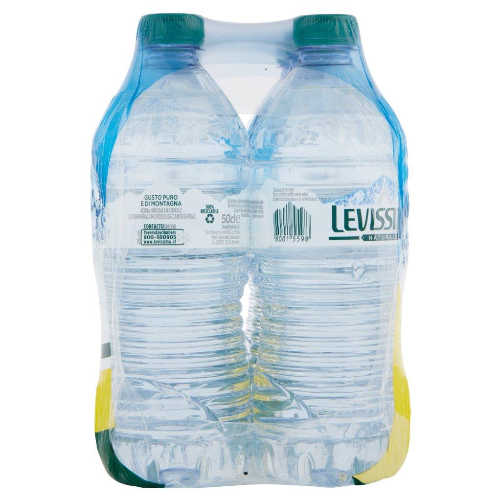Levissima , Acqua Minerale Naturale Oligominerale, 50 Cl x 6 Imballaggio 6X50Cl 3