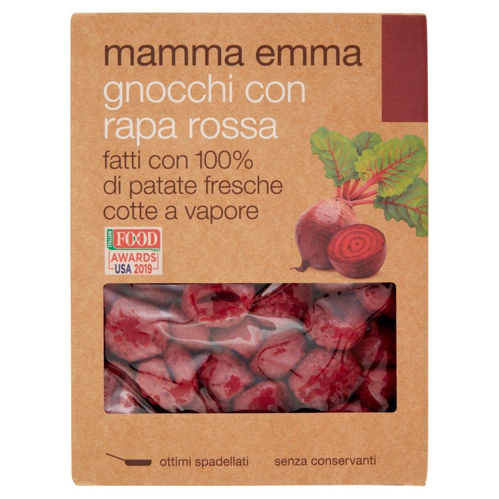 Mamma Emma Gnocchi con Rapa Rossa