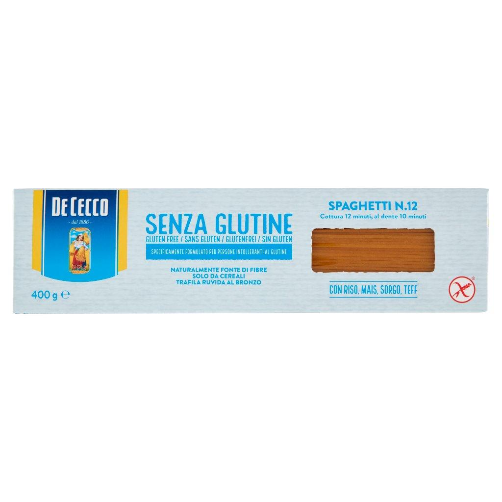 De Cecco Senza Glutine Spaghetti N.12