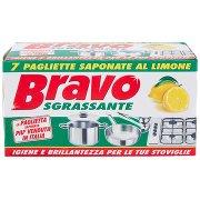 Bravo Sgrassante Saponate al Limone, Igiene e Brillantezza per le Tue Stoviglie