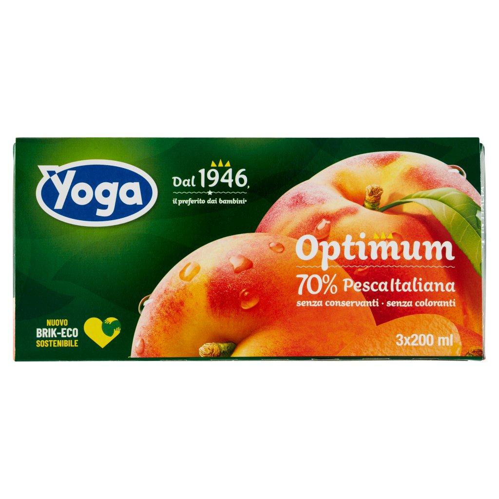Yoga Yoga Optimum 70% Pesca Italiana 3 x 200 Ml