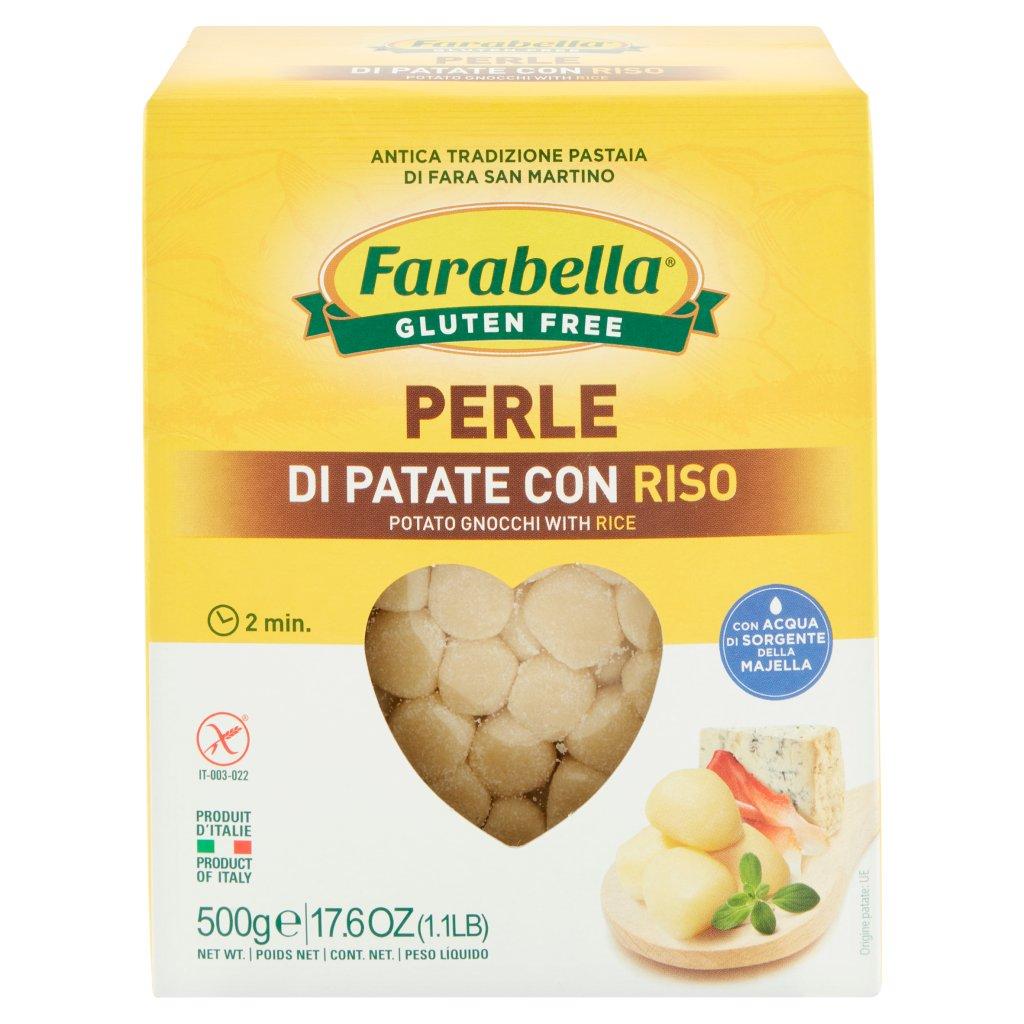 Farabella Gluten Free Perle di Patate con Riso