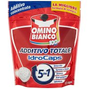 Omino Bianco 100 Più Additivo Totale Idrocaps 5in1 12 Caps