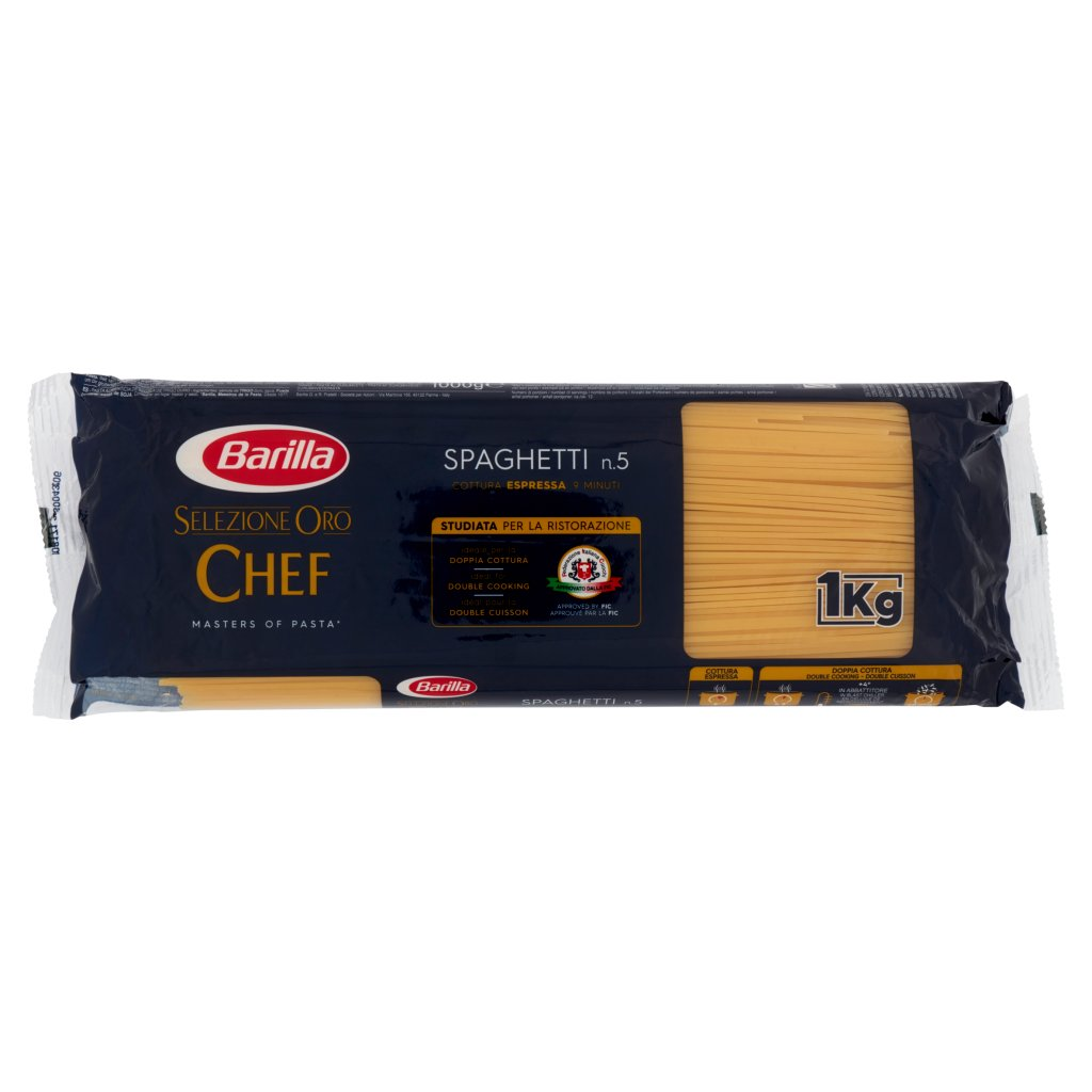 Barilla Selezione Oro Chef Spaghetti N°5 1kg