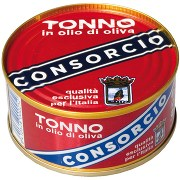 Consorcio G111 Tonno O.O. Consorcio Confezione da 4 Scatole