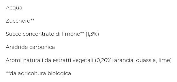 Organics By Red Bull Bitter Lemon - Lattina da