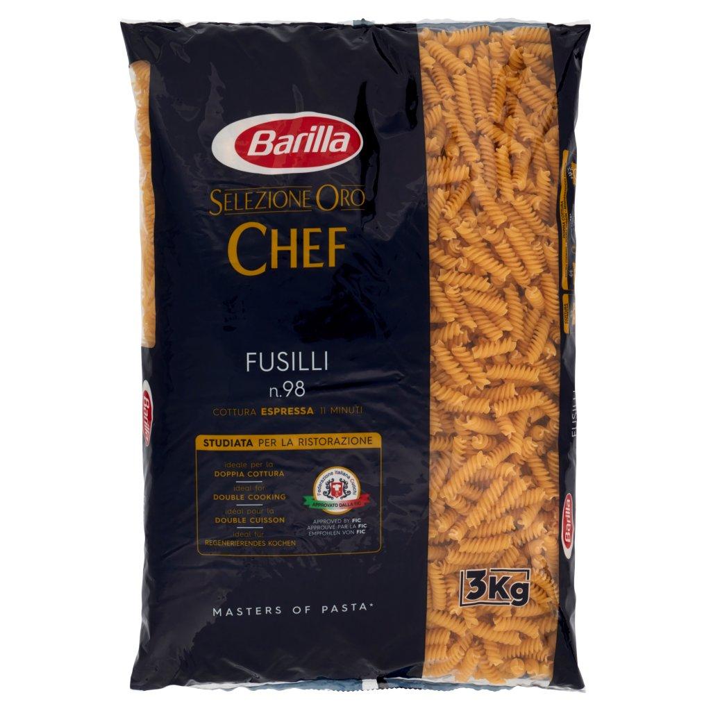 Barilla Selezione Oro Chef Fusilli N°98 3kg