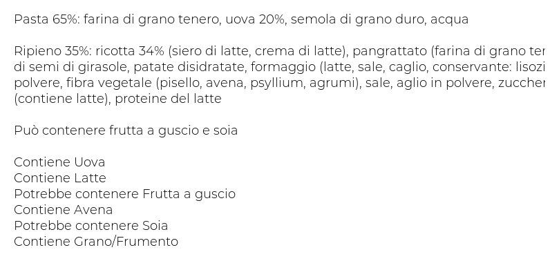 Fini I Granclassici Grantortello Ricotta e Spinaci