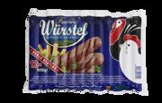 Wurstel Pollo Tacchino Kg1 L/f