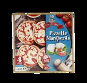4 Pizzette Margherita