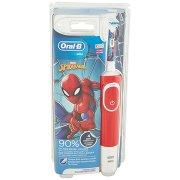 Oral-b Power Spazzolino Elettrico Ricaricabile Vitality Kids Spider-man +3 Anni