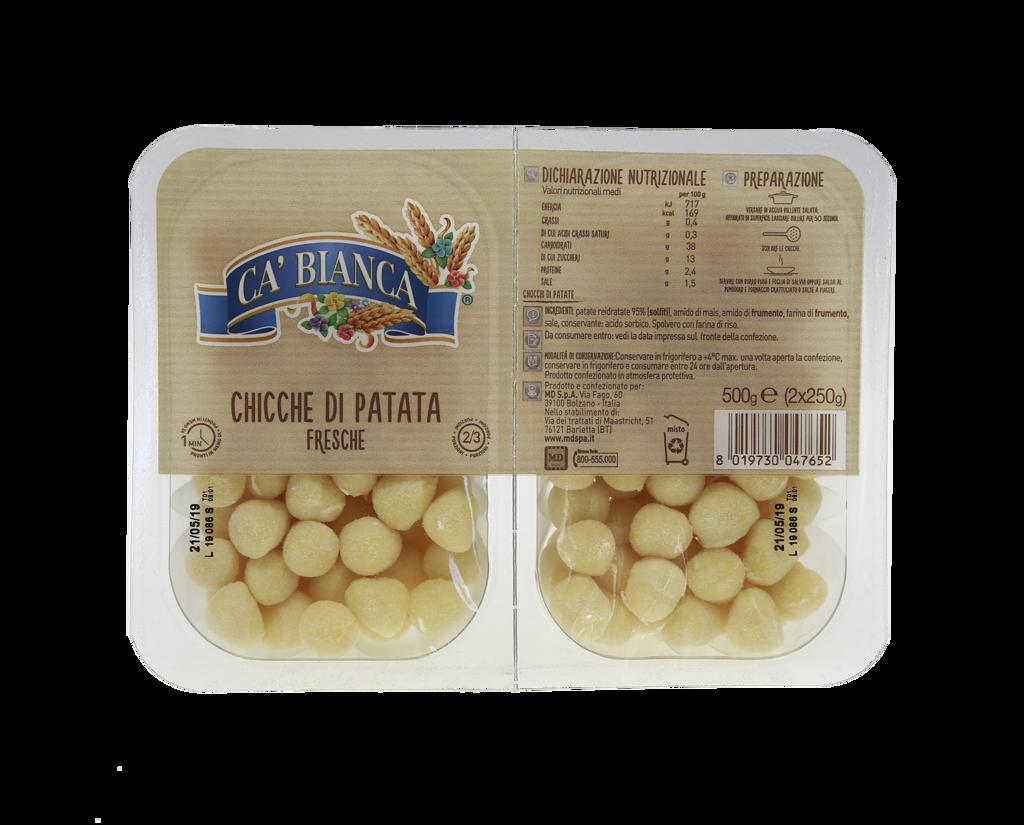 Chicche di Patate Gr.250x2 C/b