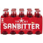 Sanbittèr Aperitivo Analcolico, Bottiglia Monodose 10cl x 10
