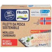 Frosta Filetti da Pesca Sostenibile Merluzzo Carbonaro 5 Filetti