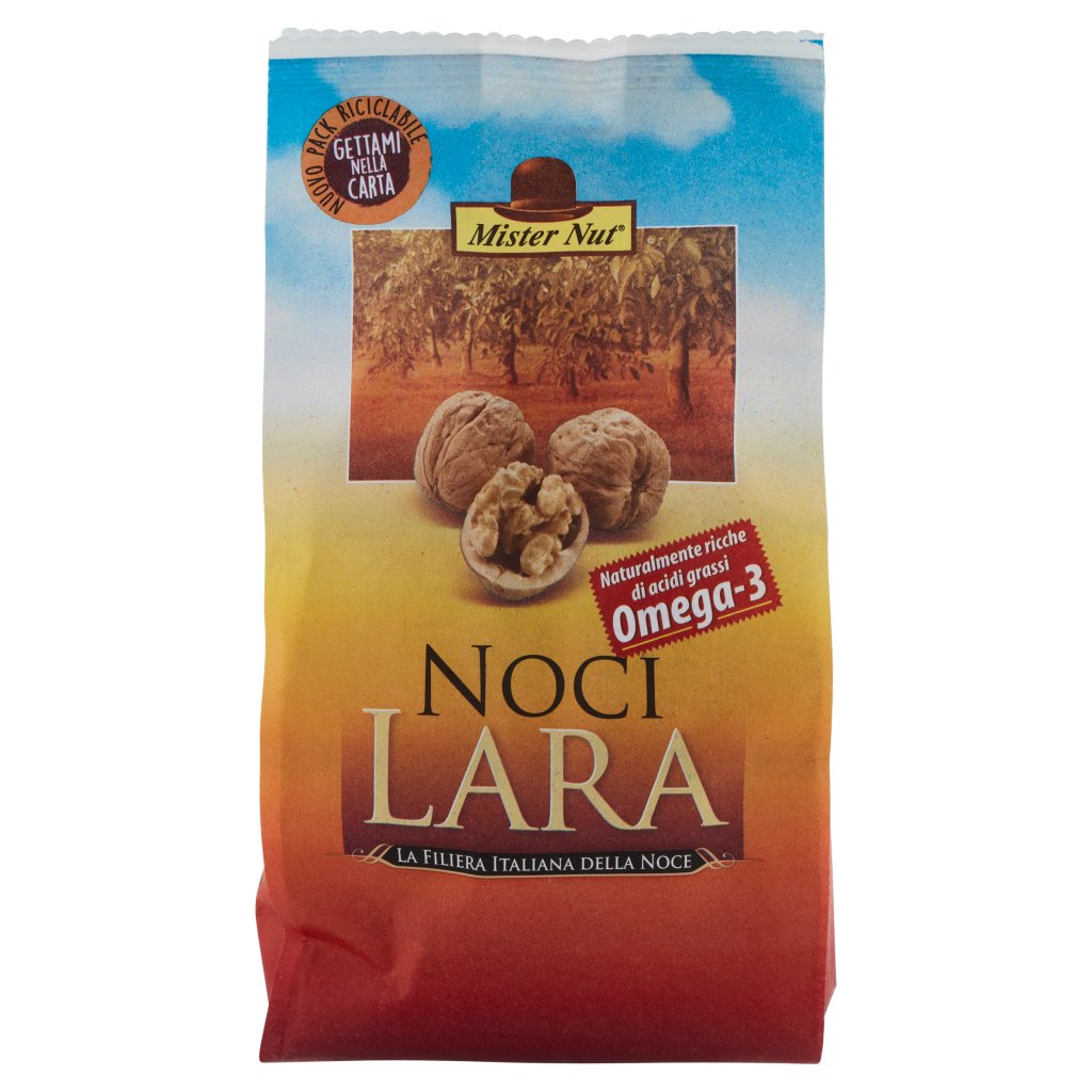 Mister Nut Noci Lara Confezione 500 G