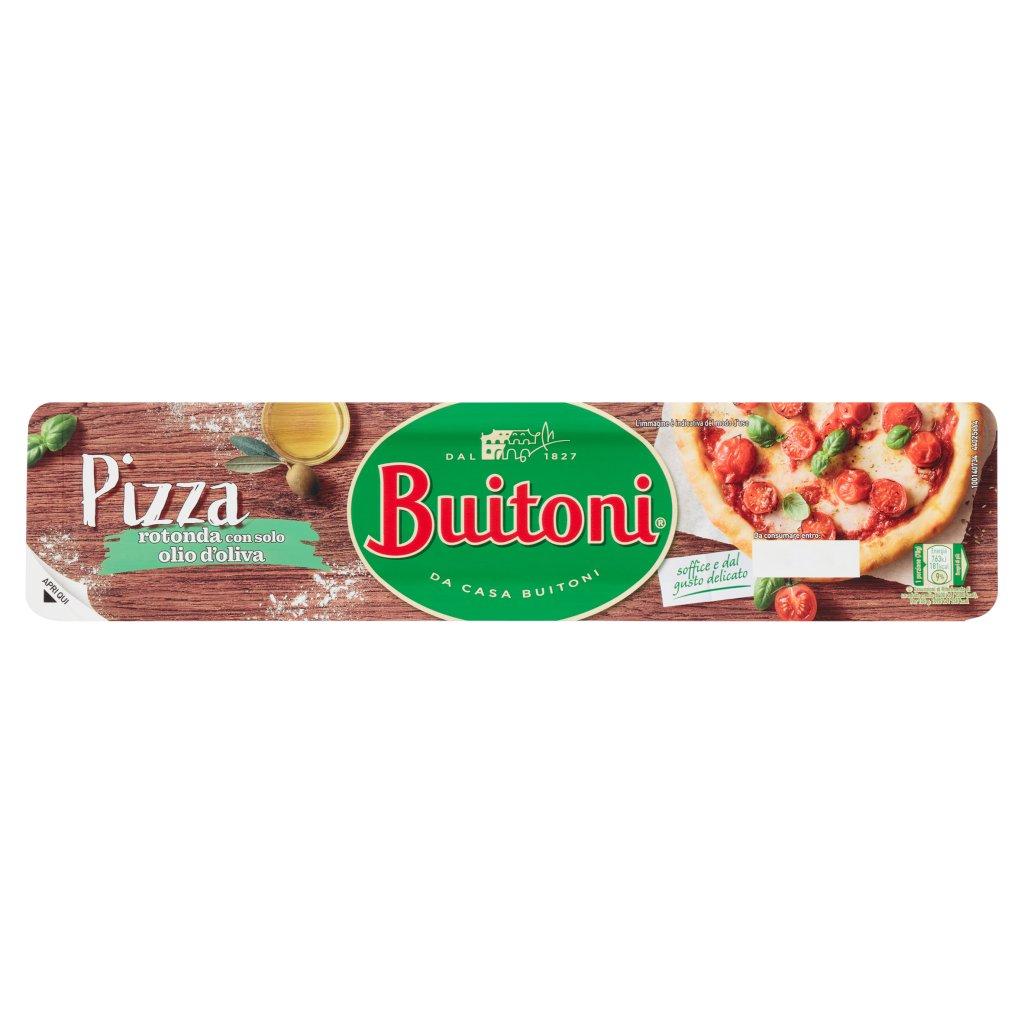 Buitoni Pizza Rotonda con Solo Olio d'Oliva Pasta Fresca Stesa per Pizza Rotonda Rotolo