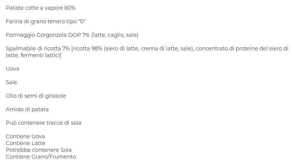 Mamma Emma Gnocchi Ripieni con Gorgonzola Dop