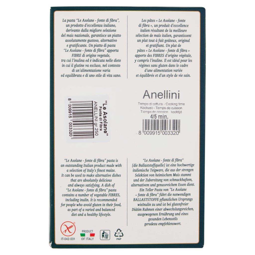 Le Asolane Fonte di Fibra Anellini