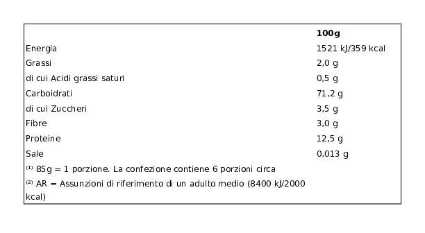 Barilla Mezze Maniche Rigate N.84 8