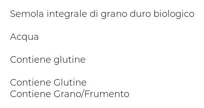 Alce Nero Grano Duro Spaghetti Integrali
