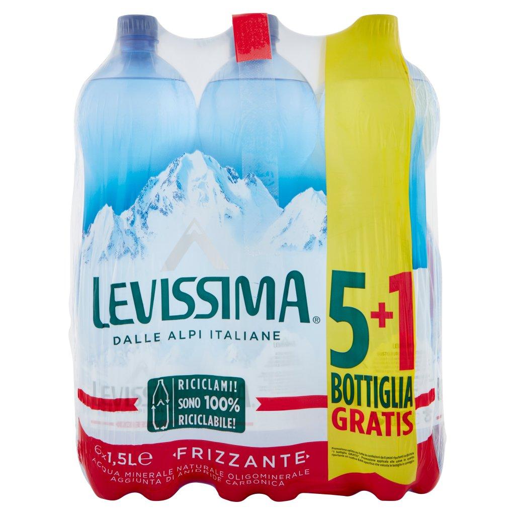 Levissima Pet 5+1x150cl - Frizzante