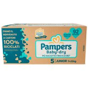Pampers Baby-dry 5 Junior 92 Pz