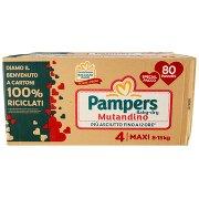 Pampers Baby-dry Mutandino 4 Maxi 80 Pz