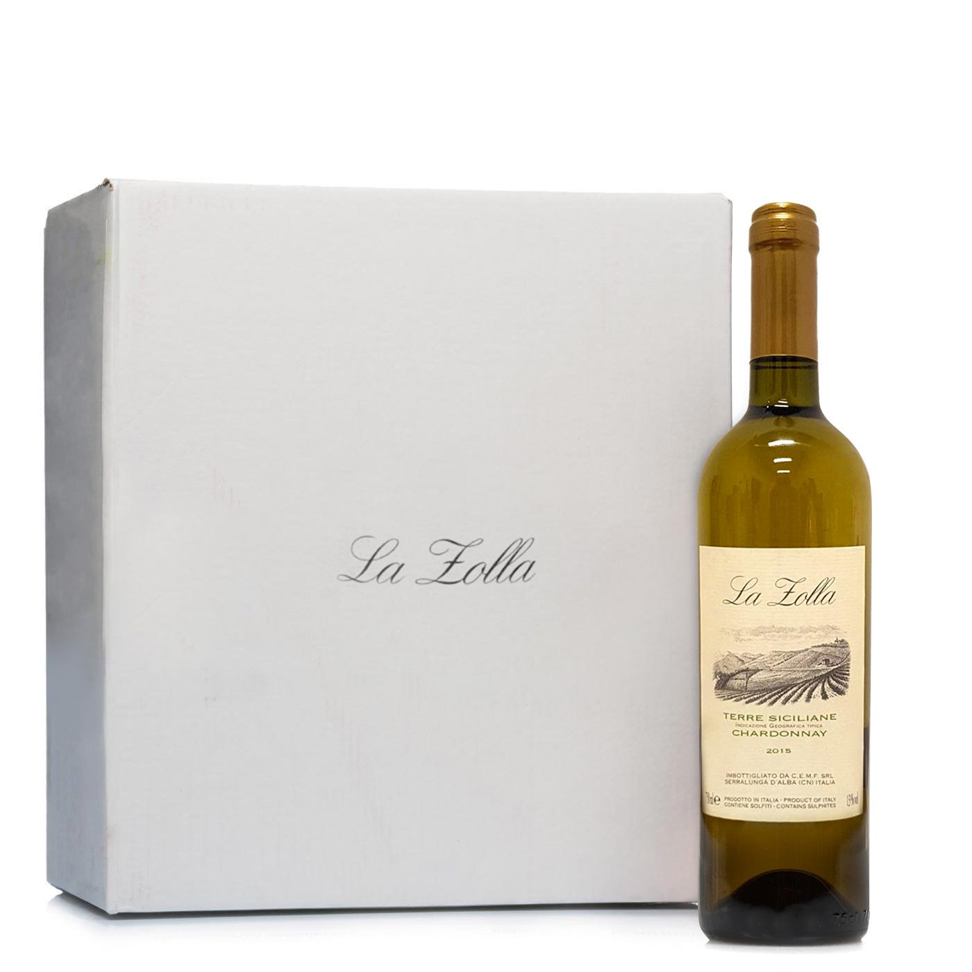 La Zolla Kit 12 Bottiglie Chardonnay 0,75l