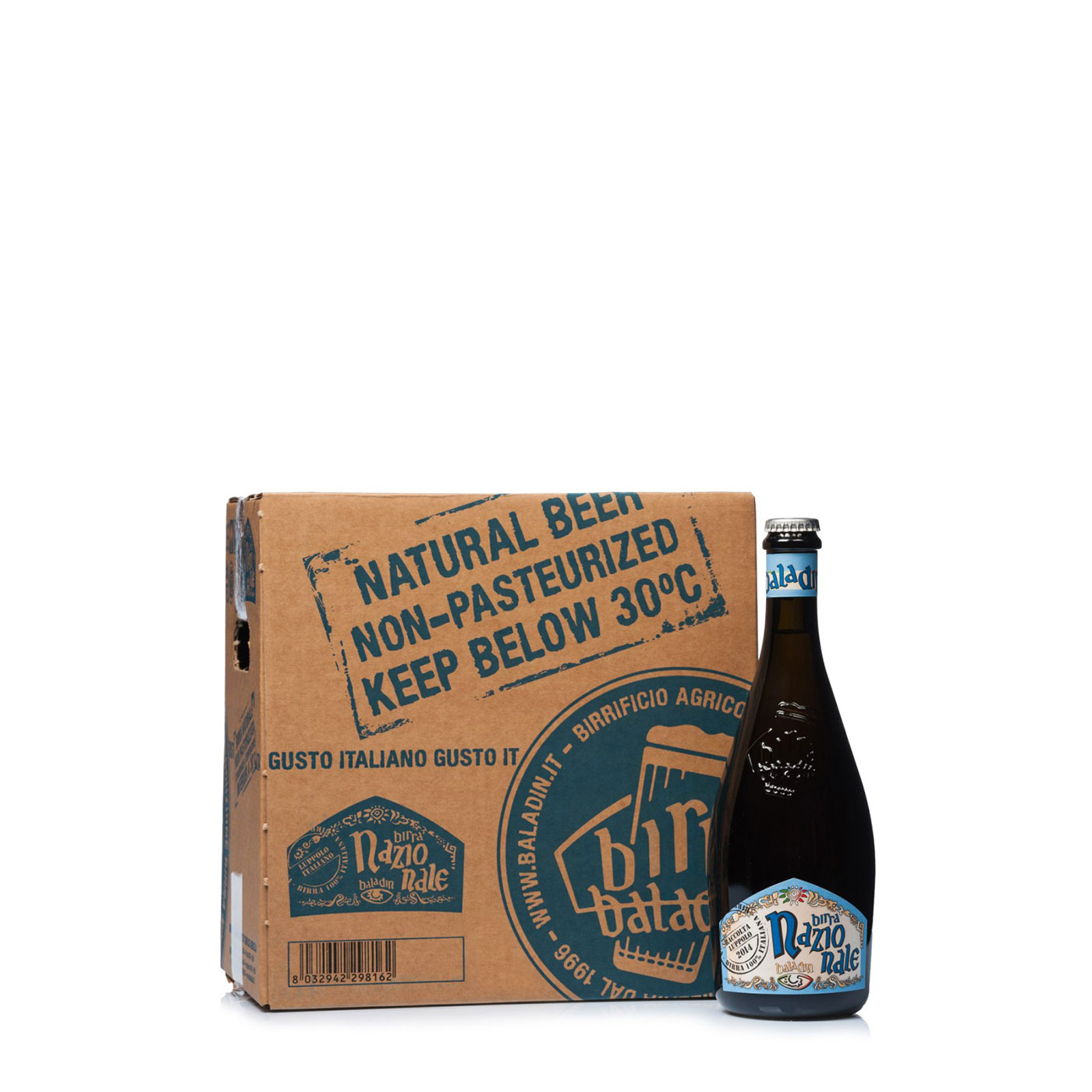 Baladin Kit 12 Bottiglie Nazionale 0,33l