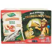 Valfrutta I Triangolini Pesca Italiana Succo e Polpa 12 x 100 Ml