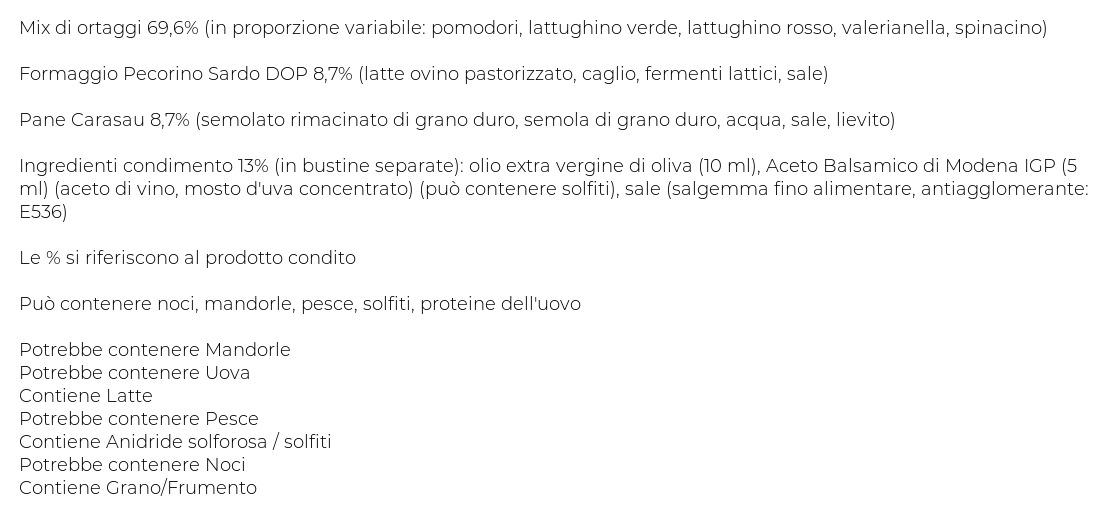 Bonduelle Le Regionali Ricetta alla Sarda Vaschetta 115 G 5