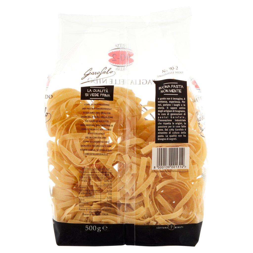 Garofalo Tagliatelle Nido 90-2 Pasta di Gragnano Igp