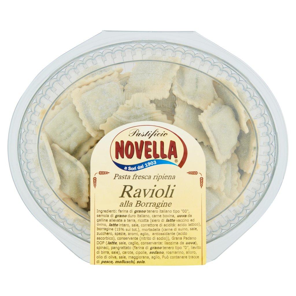 Pastificio Novella Ravioli alla Borragine
