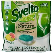 Svelto Powered By Nature Tutto in 1 Agrumi 25 Pastiglie